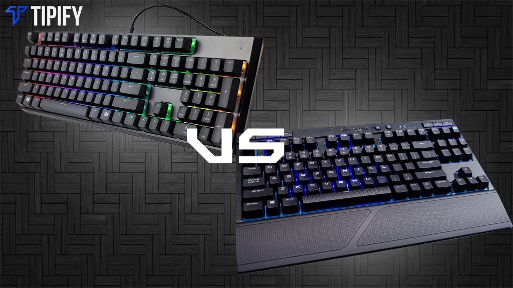 Tech Review Tuesday: Corsair K63 Wireless vs Cooler Master MasterSet MS120 - Tipify