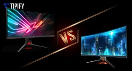 Tech Review Tuesday: Asus ROG Strix XG35VQ vs Asus ROG Swift PG348Q