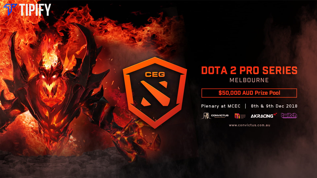 Convictus Esports Group To Host Melbourne Dota 2 Pro Series - Tipify