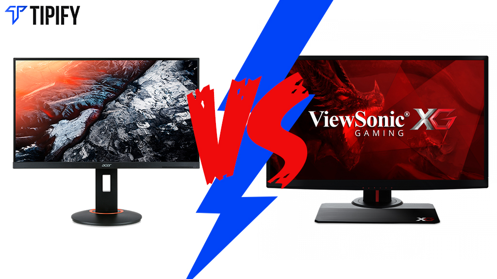 Tech Review Tuesday: Acer XF250Q vs Viewsonic XG2530
