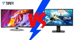 "Tech Review Tuesday: Asus 24"" LED Free Sync vs Sceptre C248W-1920R"