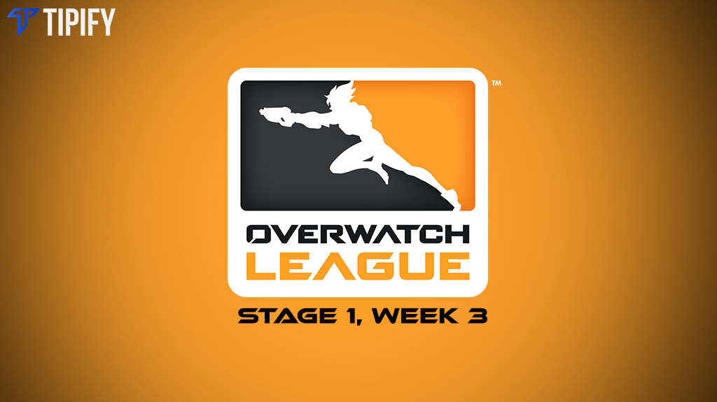 Overwatch League Stage 1, Week 3 Upcoming Matches - Tipify
