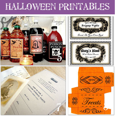 A bit of Free Printable Halloween Goodness!