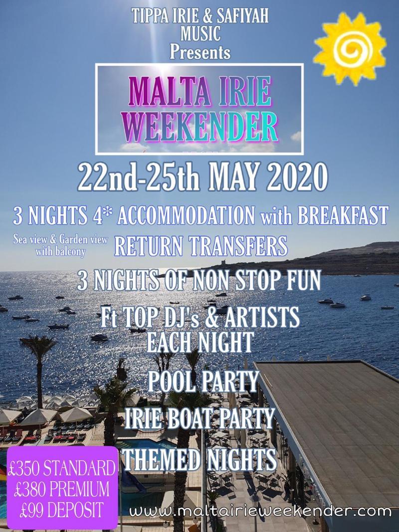 Malta Irie Weekender