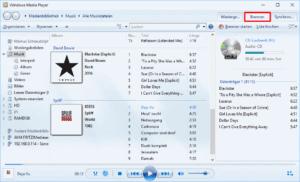 Brennen einer Audio-CD