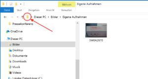 Windows Pfad herausfinden