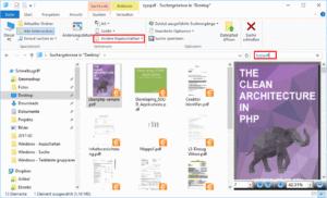 Suche nach Dateierweiterung