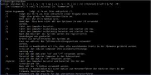 Shutdown-Befehl Parameter