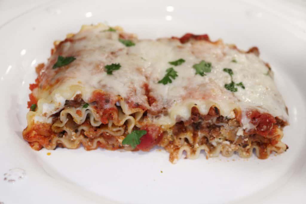Bolognese Lasagna Rolls