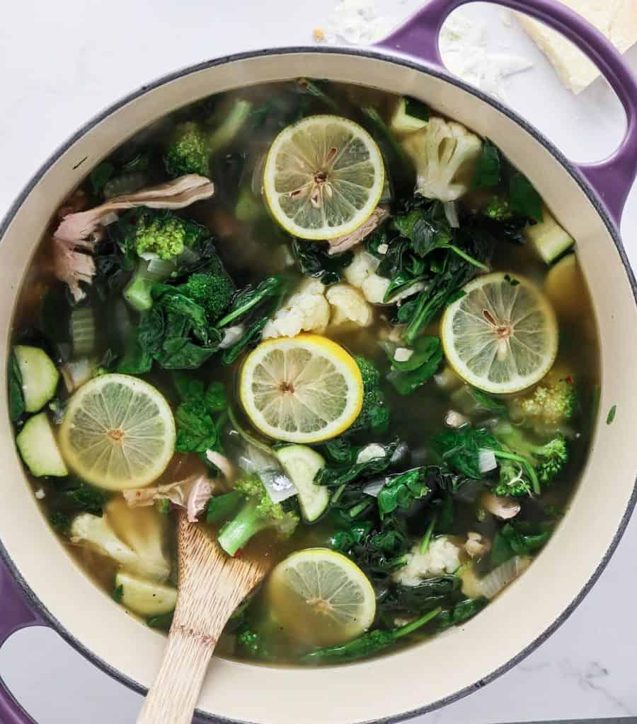 Lemon Chicken Detox Soup