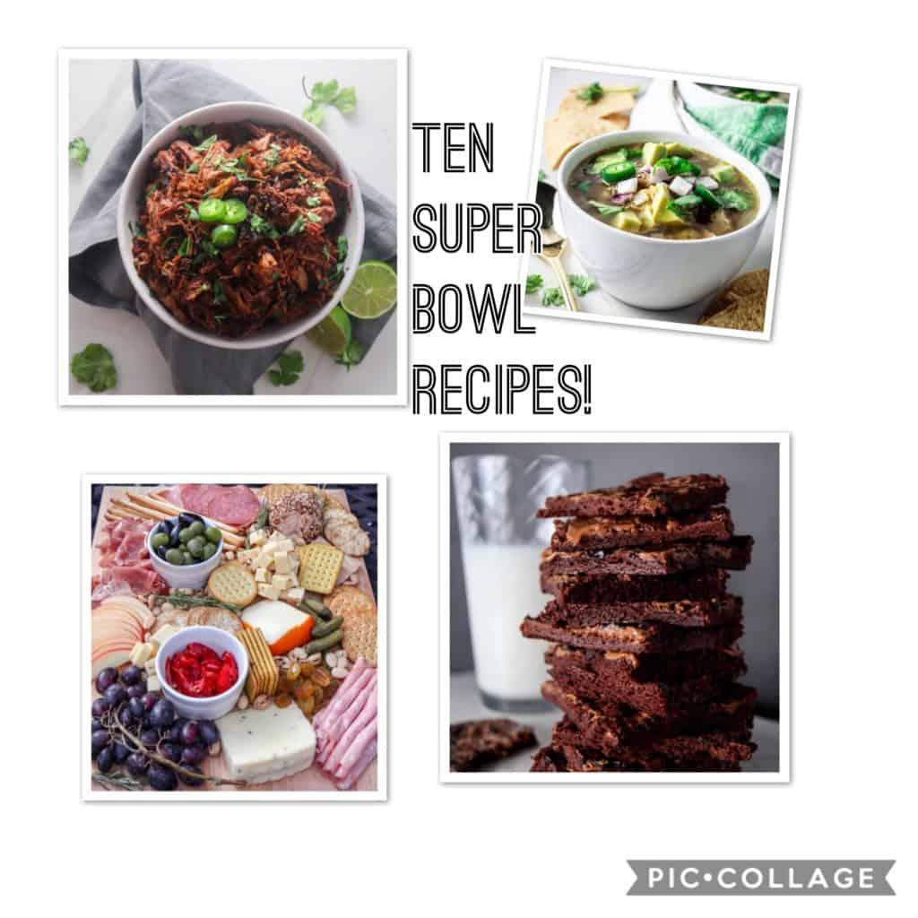 Top ten super bowl recipes!