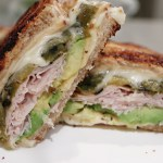 Hatch Green Chile & Turkey Panini