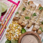 Slow Cooker Chipotle Chicken Taquitos