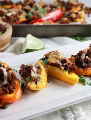 Jalepeño Chorizo Stuffed Game Day Peppers