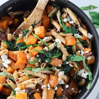 Roasted Butternut Squash Penne Pasta