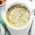 One-Pot Potato Leek Soup