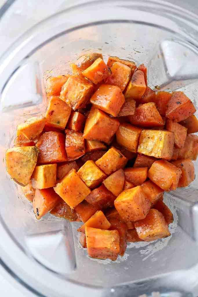 Brown Butter Sage Mashed Sweet Potatoes