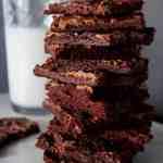 Sheetpan Cookie Butter Brownies