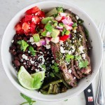 Chimichurri Steak Bowls for Two
