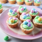 Easter Cookie Cups with Buttercream Frosting