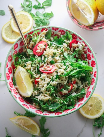 Lemon & Herb Orzo Salad