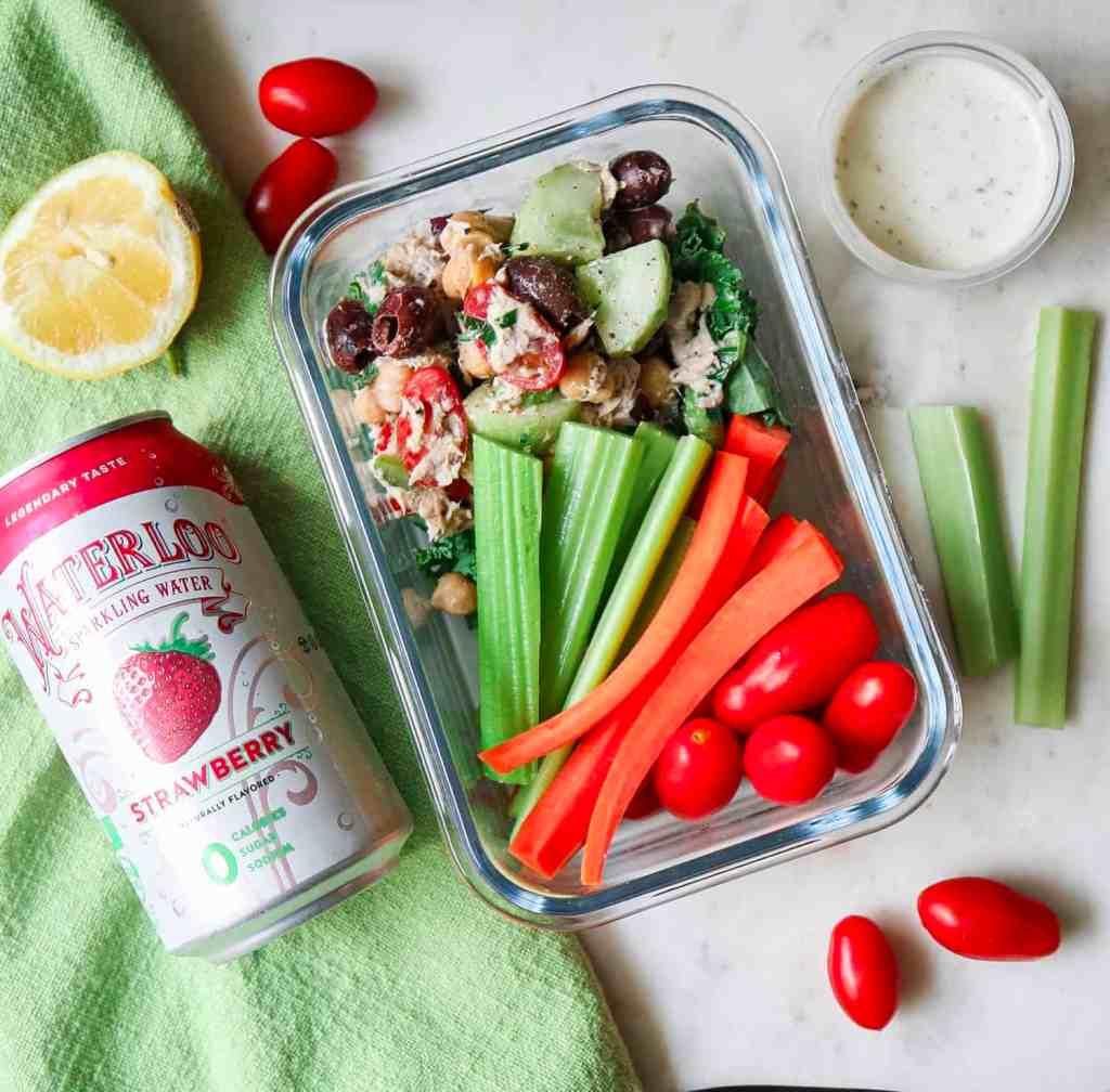 Mediterranean Tuna Salad (Meal Prep)