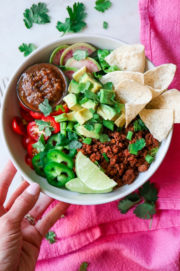 Easy Beef Taco Salads