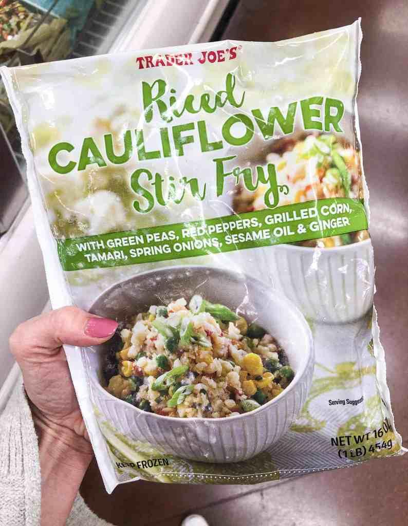 Riced Cauliflower Stir Fry (Frozen)