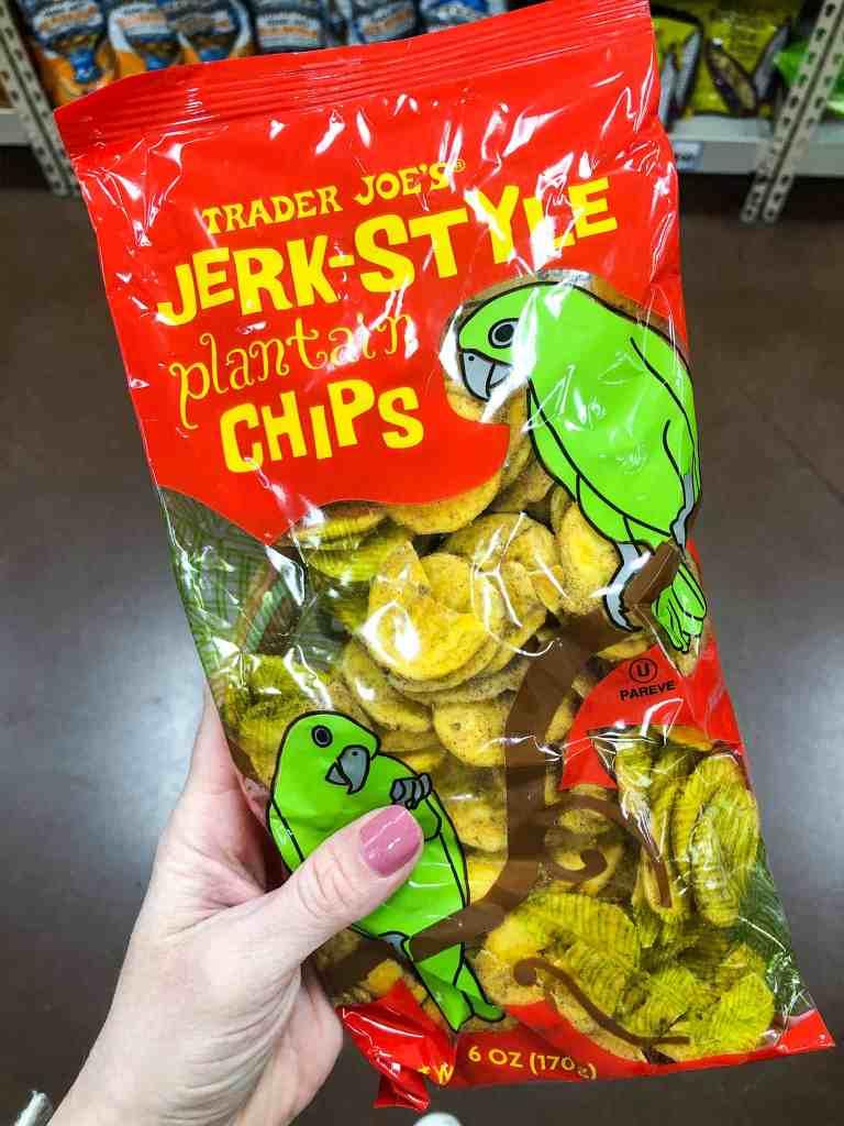 Trader Joe's Jerk Style Plantain Chips