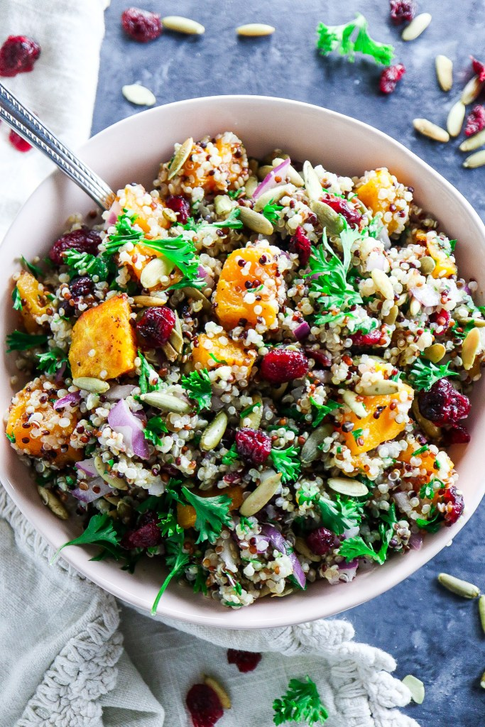 Simple Autumn Quinoa Salad