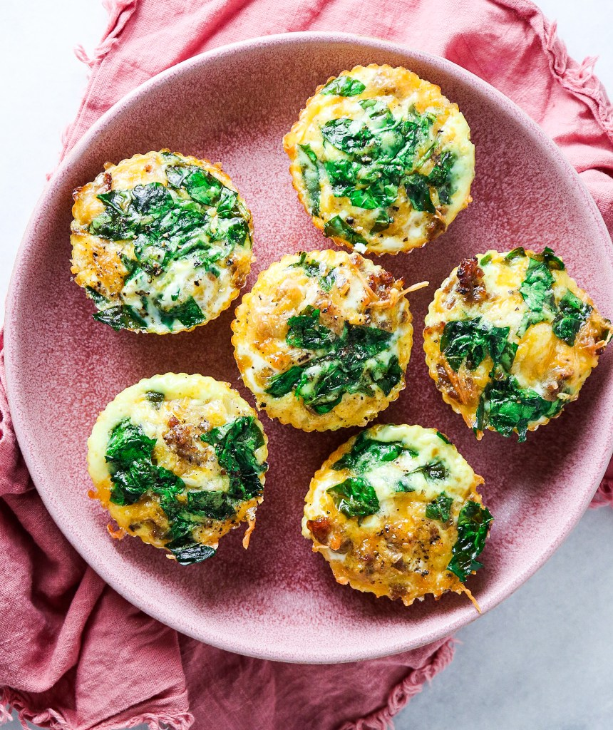 Sausage and Cheese Egg Cups
