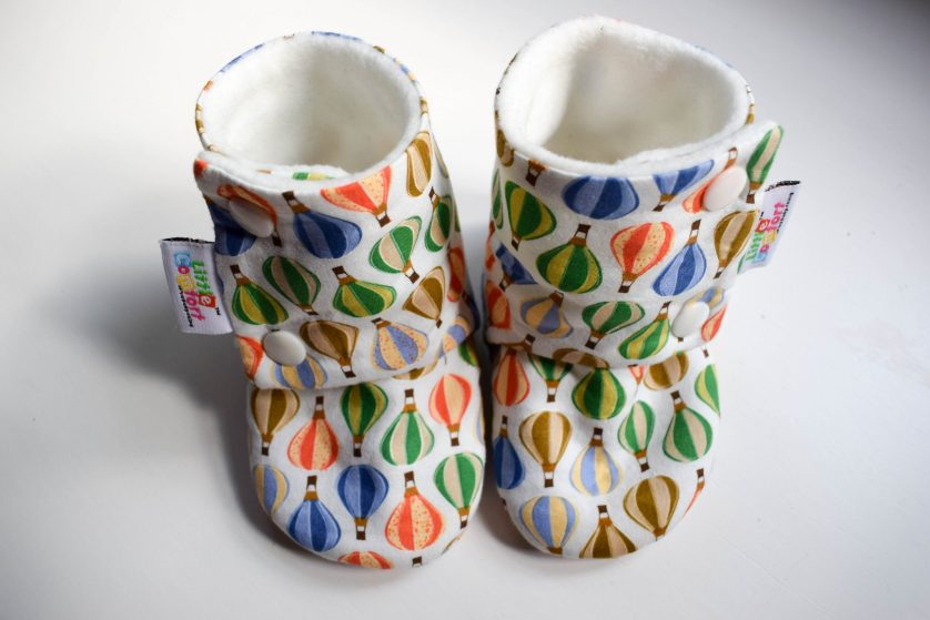 Booties Product Review – Little Comfort Handmade Baby Shoes
