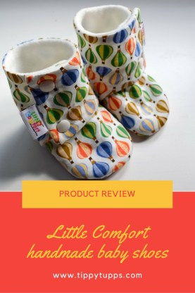 Booties Product Review - Little Comfort Handmade Baby Shoes