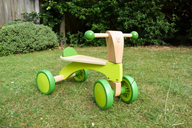 Hape Scoot Around - wooden rider