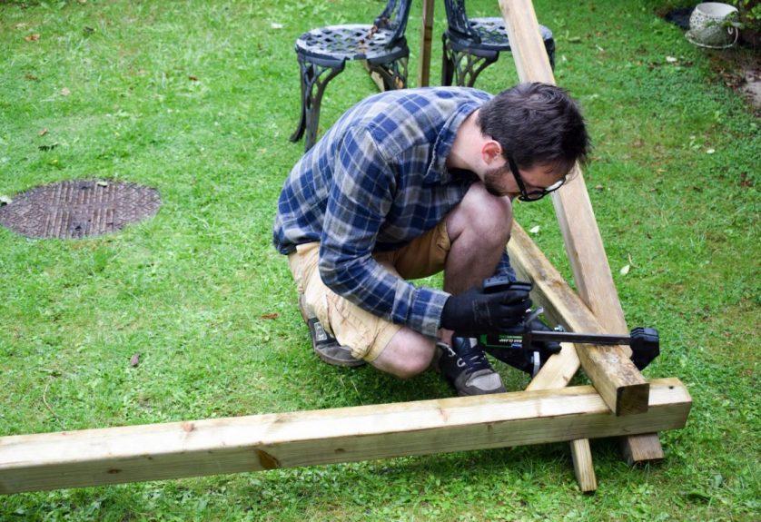 Garden Fun – a new swing