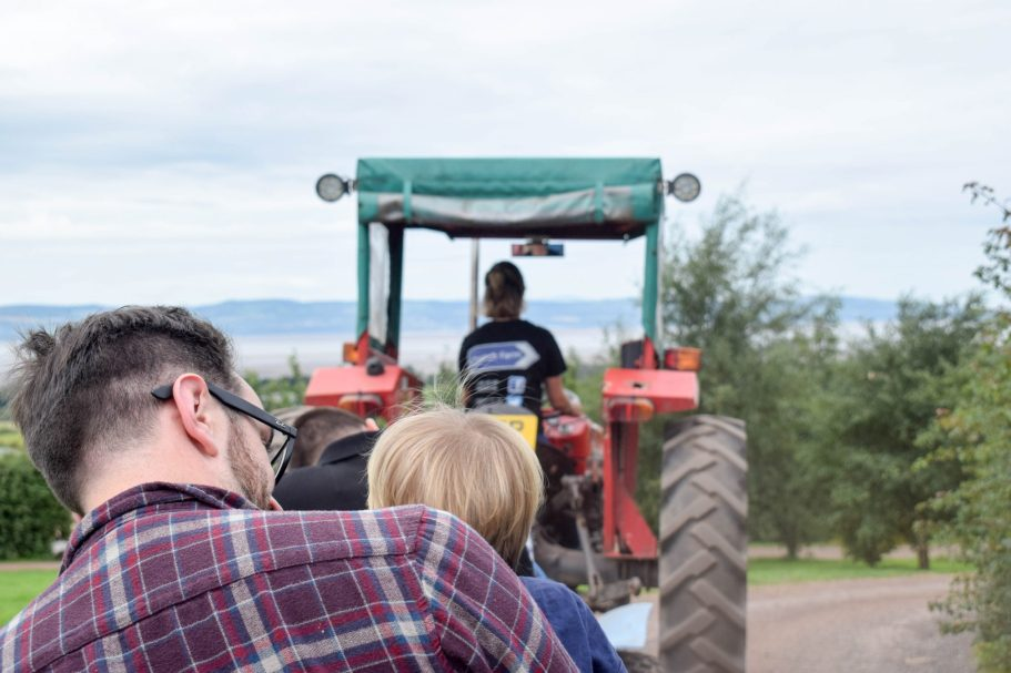 Church Farm - The Wirral - tractor barrel ride