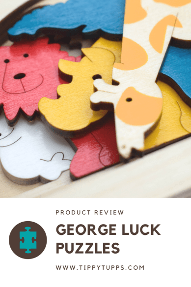 George Luck Puzzles - Product Review - pinable image