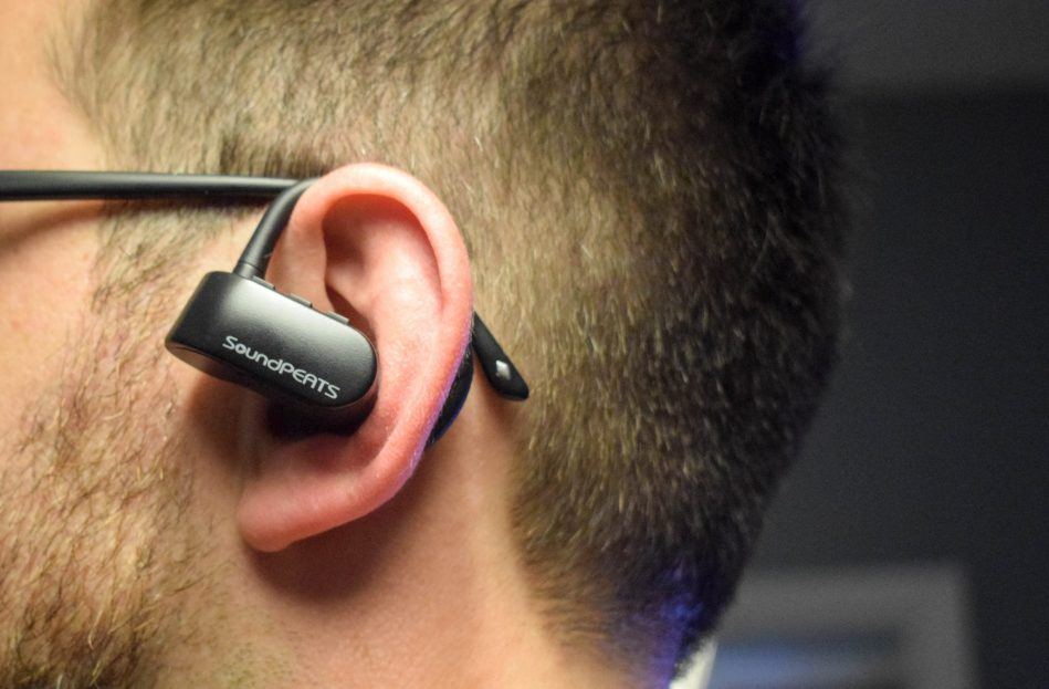 Product Review - SoundPEATS - Q16 Headphones - in use