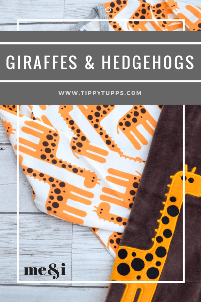 giraffes & hedgehogs - me&i review - pinable image