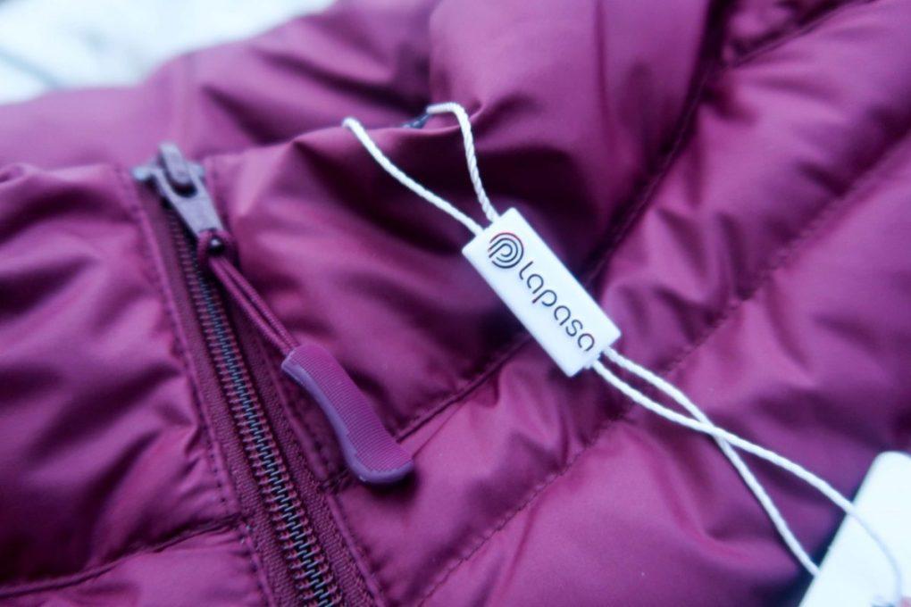 Keeping Warm with Lapasa - close up detail