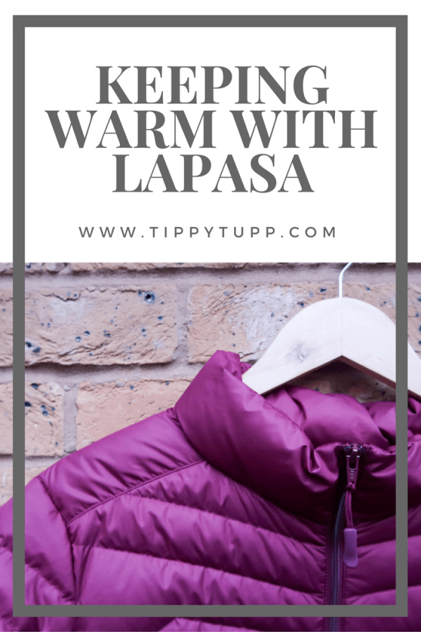 Keeping Warm with Lapasa - Product Review - Winter Coat - Keeping Warm - Hiking Coat -