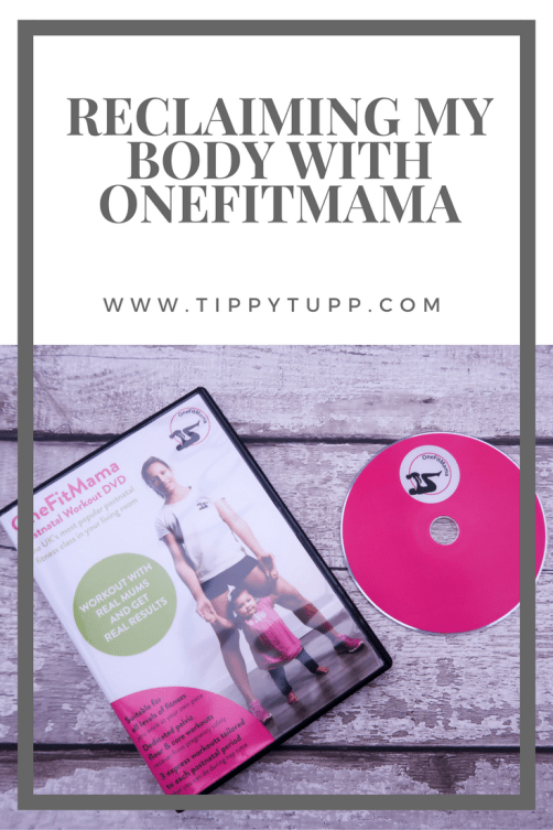 OneFitMama - workout DVD - health and fitness - exercise - postnatal exercise