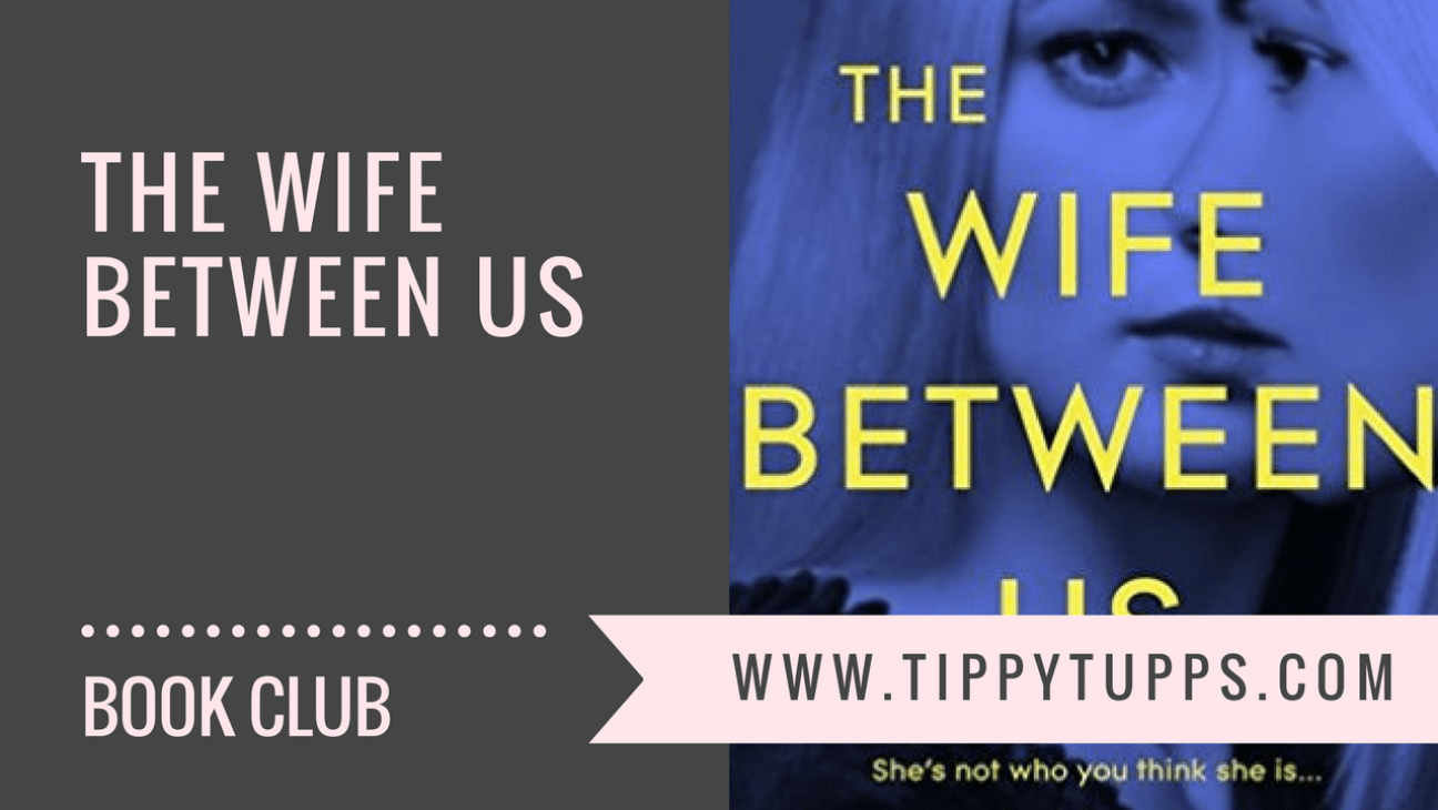 The Wife Between Us - book review - blog header image