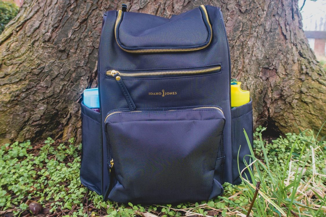 Idaho Jones Gallivant - backpack changing bag review - in use