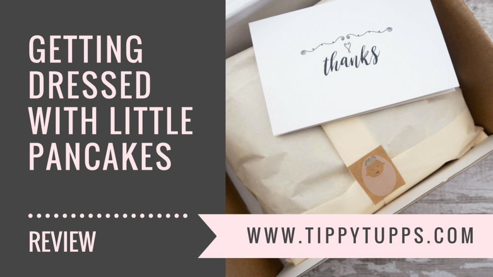 little pancakes - product review - toddler clothes - blog header image