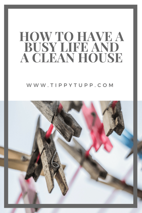 When you have a busy life, something has to give and a lot of the time it's the house which is neglected. Well, here's how to have a busy life and a clean house. A cleaning schedule which will help give you back your home and your time.