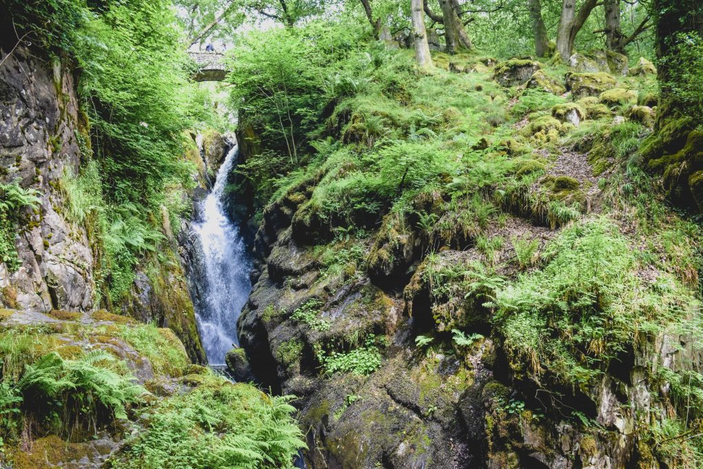 Camping in Ullswater - Aira Force
