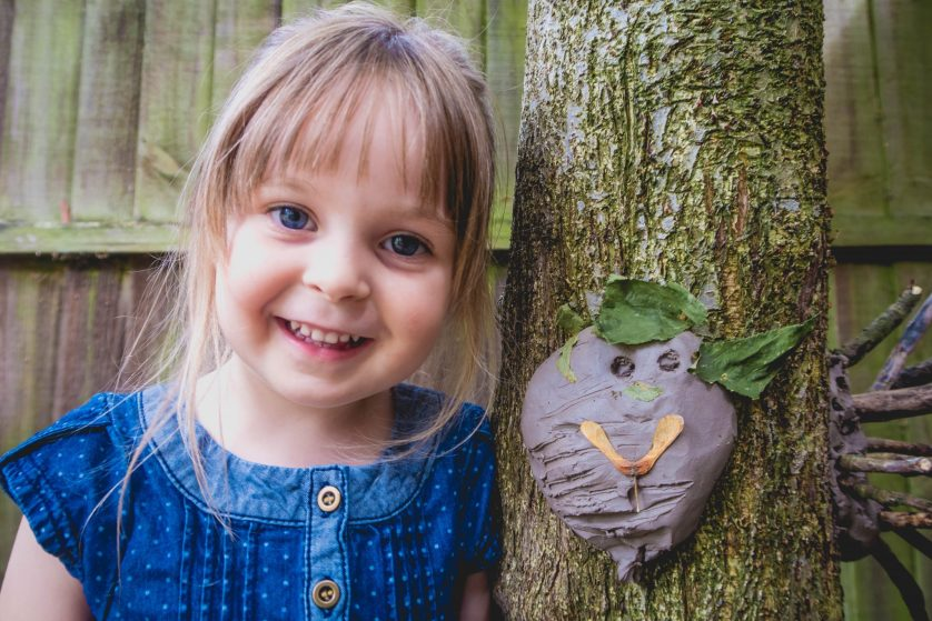 Make Your Own Clay Face (and Scavenger Hunt)