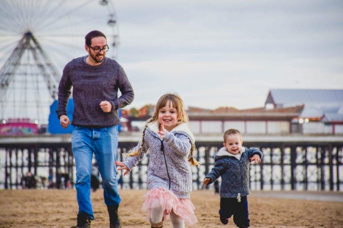 Blackpool illuminations - ready, steady go - racing on the beach