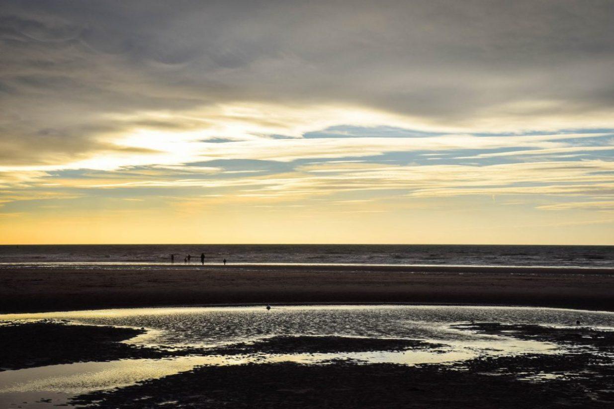 Blackpool illuminations - on the beach